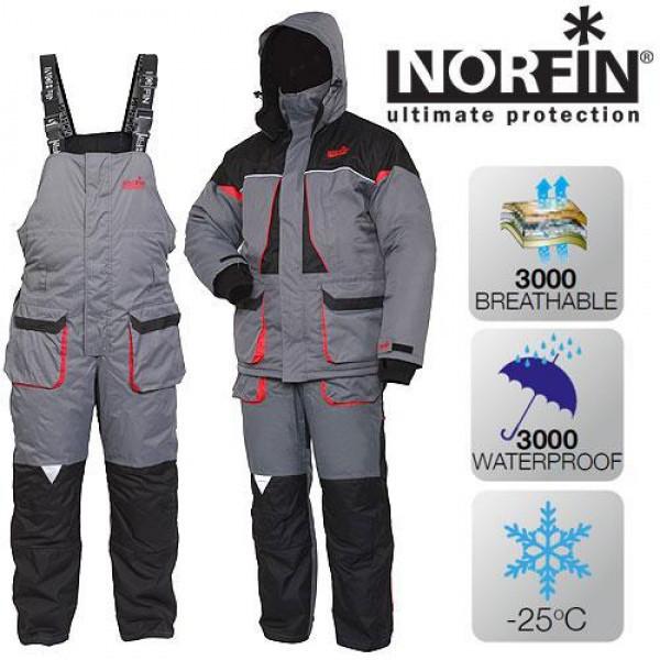 Зимовий костюм для риболовлі Norfin Arctic Red (-25 °) 422101-S