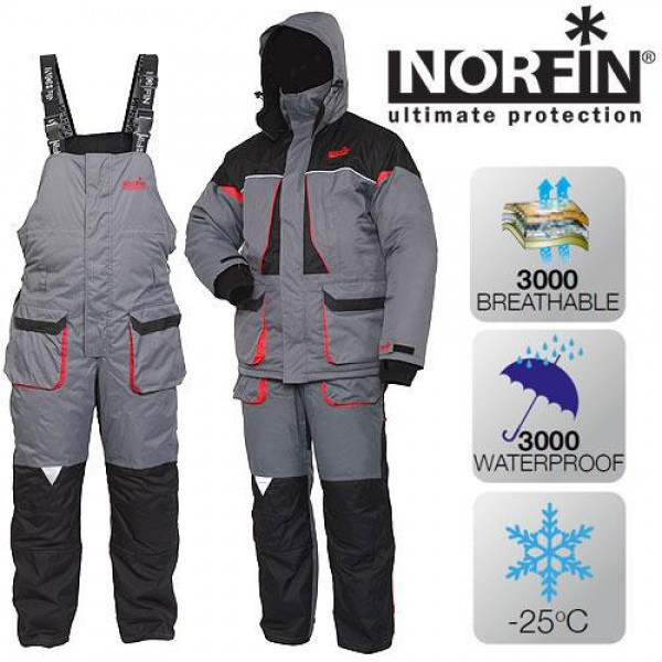 Kостюм зимний Norfin Arctic Red (-25°) 422104-XL