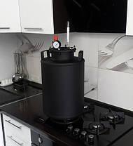 Автоклав бытовой с взрывным клапаном на 15 литровых банок(или 32 пол-литровых), фото 2