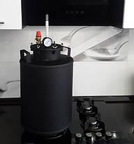 Автоклав бытовой с взрывным клапаном на 15 литровых банок(или 32 пол-литровых), фото 3