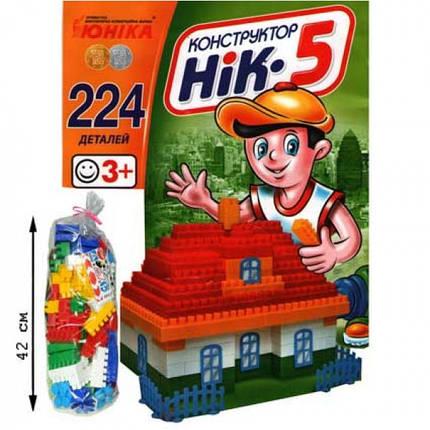 """Конструктор 70927 """"НИК-5"""", развивающая игрушка, подарок для ребенка, фото 2"""