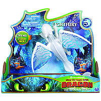 Фигурка де-люкс Дневная Фурия Dragons Как приручить дракона 3 оригинал Spin Master
