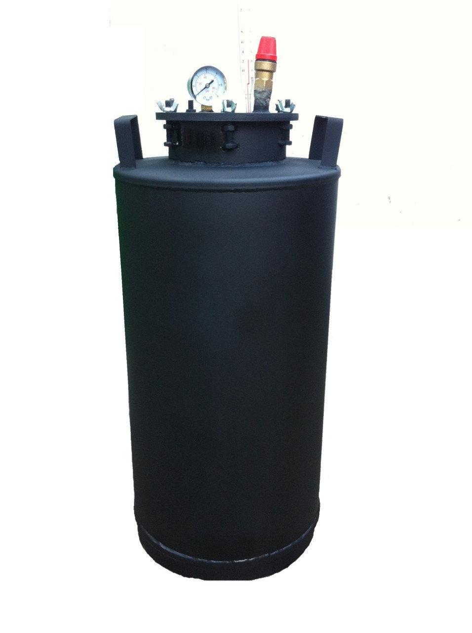 Автоклав бытовой с взрывным клапаном на 15 литровых банок(или 32 пол-литровых)