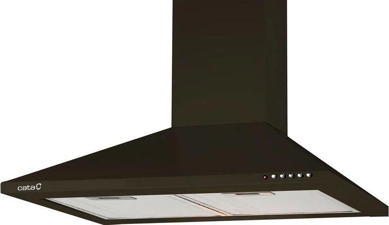 Вытяжка кухонная купольная Cata V 600 negra