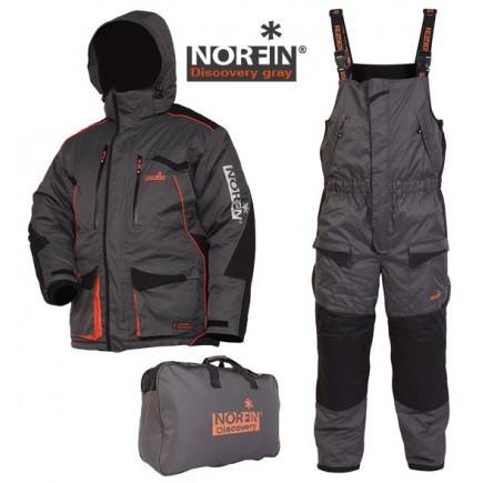 Зимний костюм для рыбалки Norfin DISCOVERY Gray (-35°) 451101-S