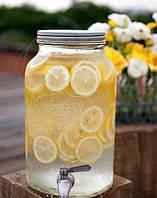 Диспенсер для лимонада крышка серебро 4,25 л