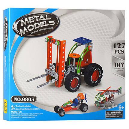 Конструктор 980 (9803), развивающая игрушка, подарок для ребенка, фото 2