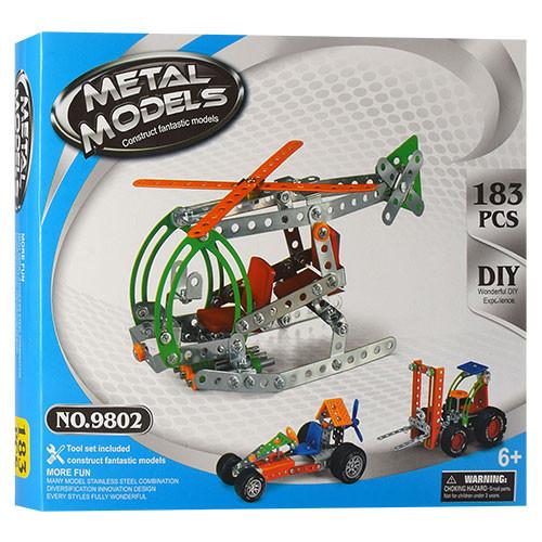 Конструктор 980 (9802), развивающая игрушка, подарок для ребенка