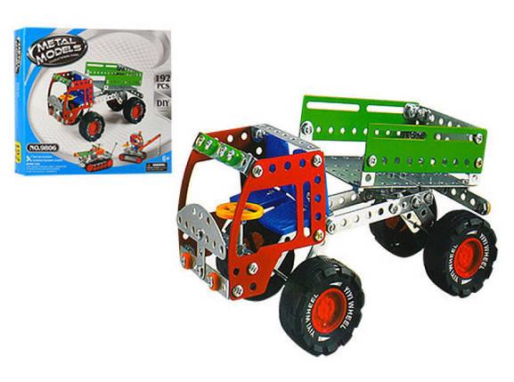 Конструктор 980 (9806), развивающая игрушка, подарок для ребенка, фото 2