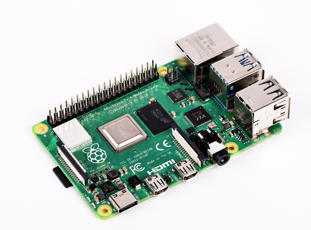 Микрокомпьютер Raspberry Pi 4 Model B 4GB (RPI4-MODBP-4GB)