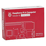 Микрокомпьютер Raspberry Pi 4 Model B 4GB (RPI4-MODBP-4GB), фото 6