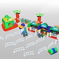 """Конструктор """"Ипподром"""" 119 деталей 013888/05, развивающая игрушка, подарок для ребенка"""