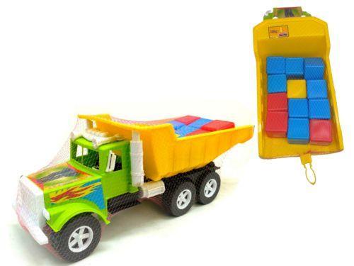 Машина «Б» с 12 кубиками 07-601-5