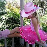 Спідниця-пачка пишна спідничка туту на 2-8 років Біла з зірками, фото 7