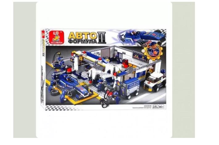 Конструктор М38 В0356 формула 1, развивающая игрушка, подарок для ребенка