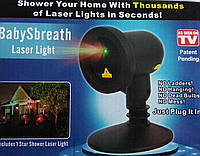 Лазерный проектор Вaby sbreath laser light FA1802