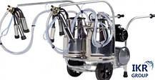 Доїльний апарат DeLaval (ДеЛаваль) на дві корови в два відра MMU2