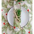 """Доріжка на стіл новорічна """"Ялинка"""" ТМ Прованс, фото 3"""