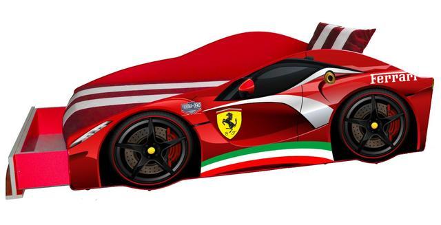 Кровать детская машина серии Elit Е-2 Ferrari red (Фото 3)