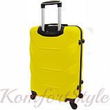 Дорожный чемодан на колесах Bonro 2019 большой желтый (10500600), фото 2