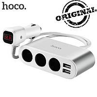 Автомобильный  разветвитель  Hoco Z13
