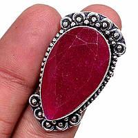 Индийский рубин. Яркое кольцо