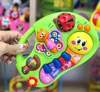 Детское пианино Гусеница, развивающая игрушка, для самых маленьких