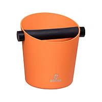 Нок-бокс VD Coffee (Алюминий/Резина) Оранжевый