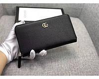 Женский кошелек в стиле Gucci (456117) black