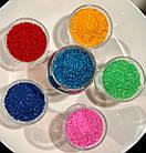 Голубая гранула для стирального порошка, фото 2