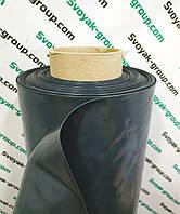 Пленка черная рулон 20 мкм, 3м.х100м.Полиэтиленовая ( для мульчирования, строительная).