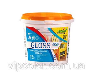Эмаль универсальная Gloss Aqua Nano farb 0.9 л
