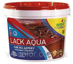 Лак по дереву Lack Aqua Nano farb 10 л
