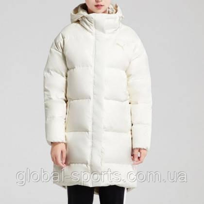 Женский белый пуховик Puma 450 Down HD Coat (Артикул: 85363611)