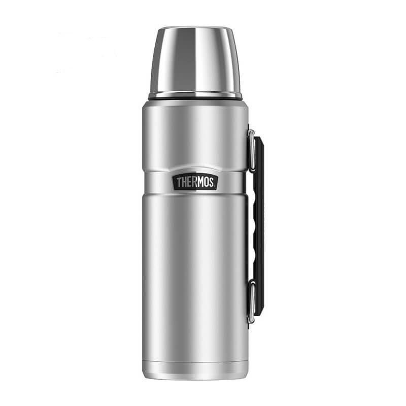 Термос с ручкой Thermos Stainless King Vacuum Insulated Flask 1.2L (170060) стальной