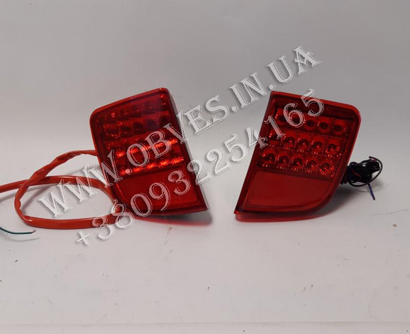 Задние противотуманные фонари (диодные) Toyota Land Cruiser 200, фото 1