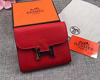 Женский модный кожаный кошелек (H-8088) красный, фото 1