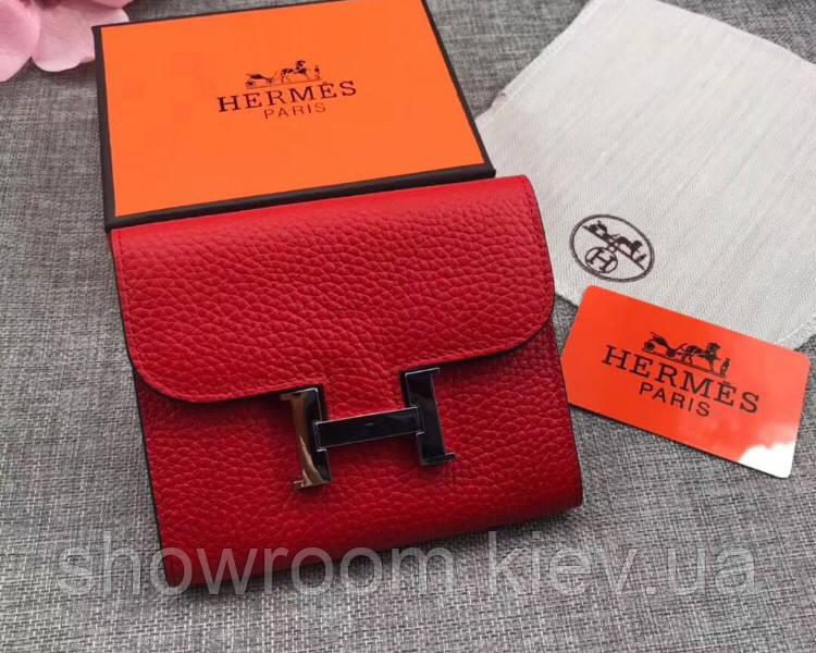 Женский модный кожаный кошелек (H-8088) красный
