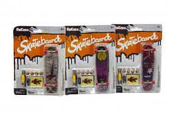 "Фингерборд ""Skateboard"" с колёсами и отвёрткой  sco"