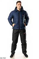 Лыжный мужской спортивный костюм теплый на овчине размеры M L XL XXL Новинка есть цвета
