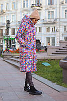 Длинная женская куртка. Синтепон 300. Размеры S, M, L, фото 1