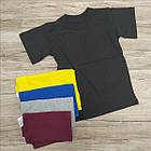 Детская футболка хлопок Украина ассорти размер 72 мальчик МД-330030, фото 3