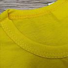 Детская футболка хлопок Украина ассорти размер 72 мальчик МД-330030, фото 5