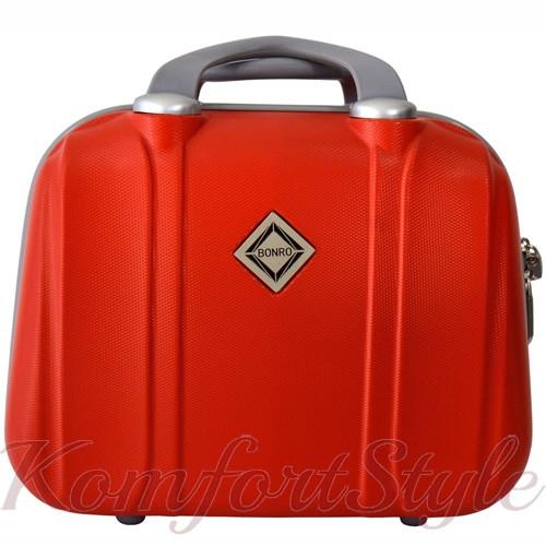 Кейс дорожный Bonro Smile большой красный (10091611)