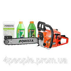 Бензопила цепная Foresta FA-48S + 2 масла|СКИДКА ДО 10%|ЗВОНИТЕ