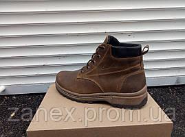 Мужские ботинки Clarks на зимний сезон, высокое качество полиуретановой подошвы