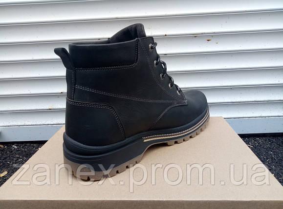 Мужские ботинки Кларкс на зимний сезон, натуральный мех, фото 2