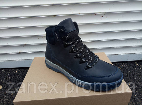 Зимние ботинки из натуральной кожи Adidas ClimaCool, зима, фото 2