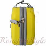 Кейс дорожный Bonro Smile средний желтый (10091404), фото 3