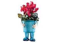Кашпо для растений Melinera 18х17х21см Cиний